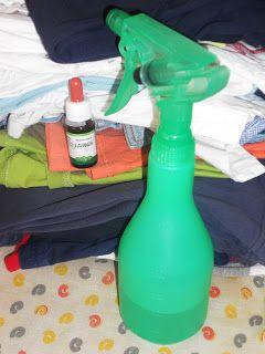 Spray alla lavanda per biancheria