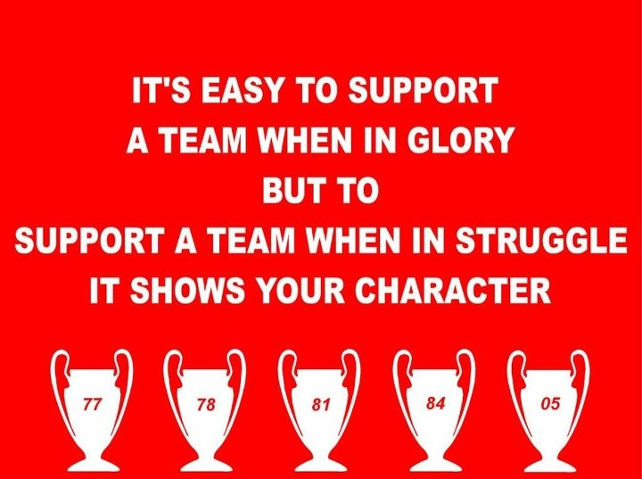Liverpool FC: Character!