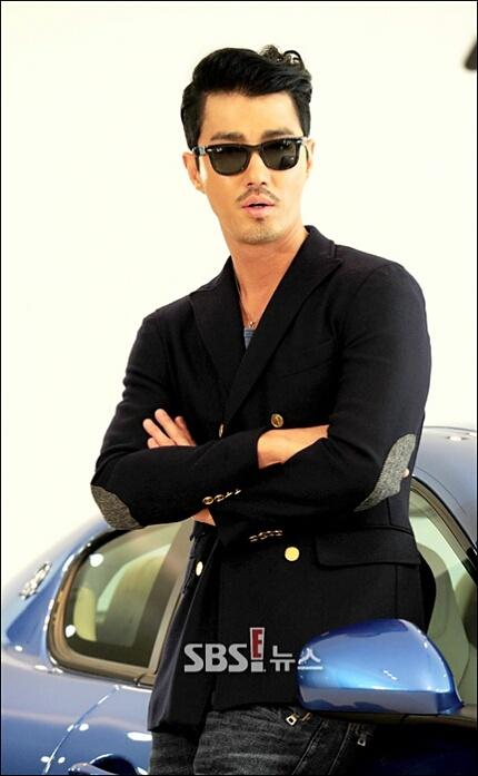 Cha Seung Won...Maserati model 2012