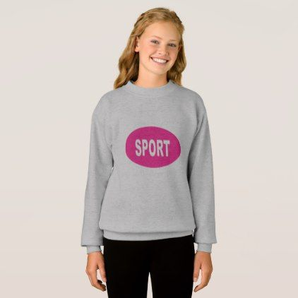 SWEAT SHIRT SPORT CANDY - girl gifts special unique diy gift idea