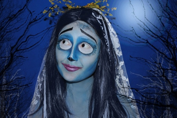 Corpse Bride makeup: Fantasy Makeup, Costumes Makeup, Halloween Costumes, Ass Costumes, Makeup Ideas, Awesome Fantasy, Corpse Bride Makeup, Halloween Ideas, Corps Bride Makeup