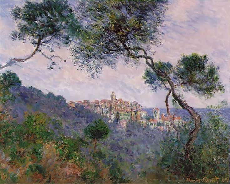 Monet, Claude  Bordighera, Italy  1884  Oil on canvas  23 5/8 x 28 3/4 in. (60 x 73 cm)  Private collection