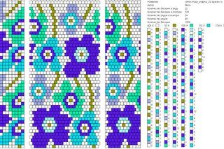 Жгуты из бисера, копилочка схем's Fotos | 20 Alben | VK Break down patterns into files by circumference