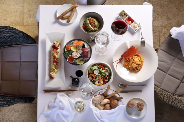 Lunch goals. It all happens every day at Ithaki Restaurant, Greece.