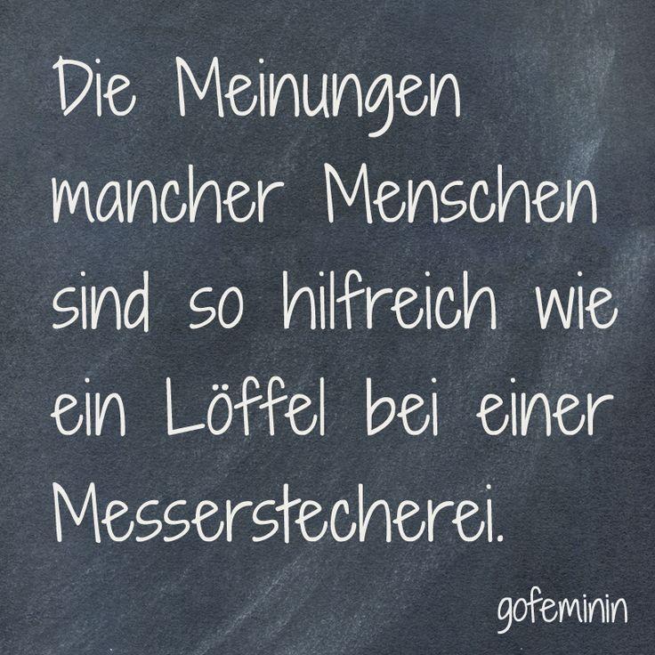 #spruch #zitat #sprüche #lustig Noch mehr coole Sprüche gibt's bei gofemin… – gofeminin.de