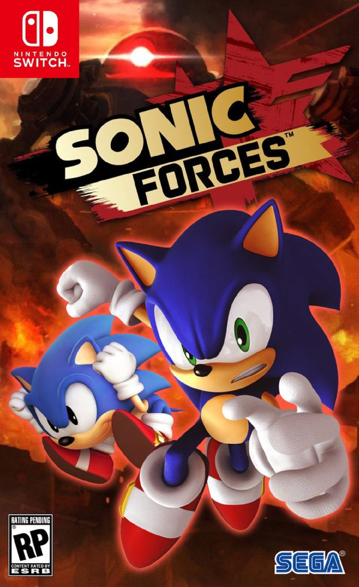 sonic forces nintendo switch new video game consoles