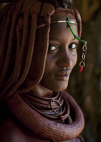 Miss Mucaniama, Himba tribe Angola | Flickr - Photo Sharing!