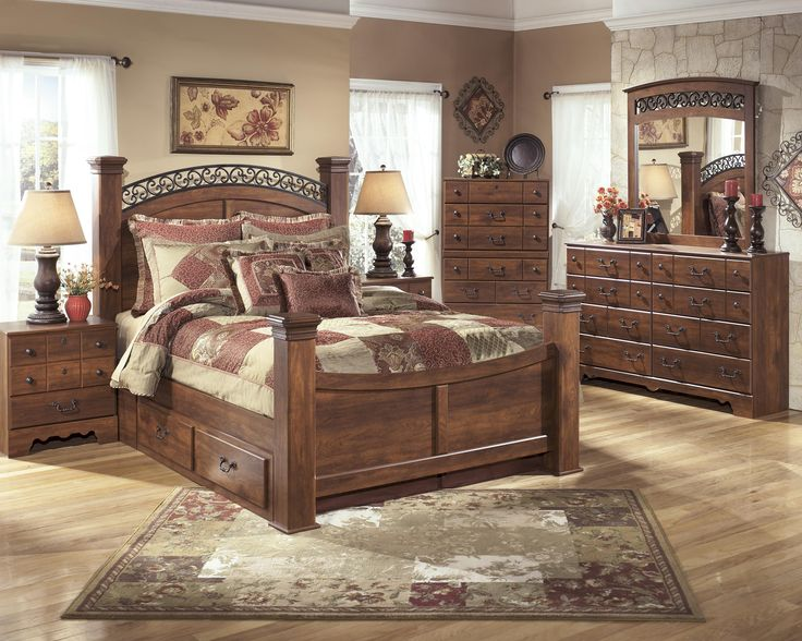 Shop For The Signature Design By Ashley Timberline King Bedroom Group At  Furniture Mart Colorado   Your Denver, Northern Colorado, Fort Morgan,  Sterling, ...