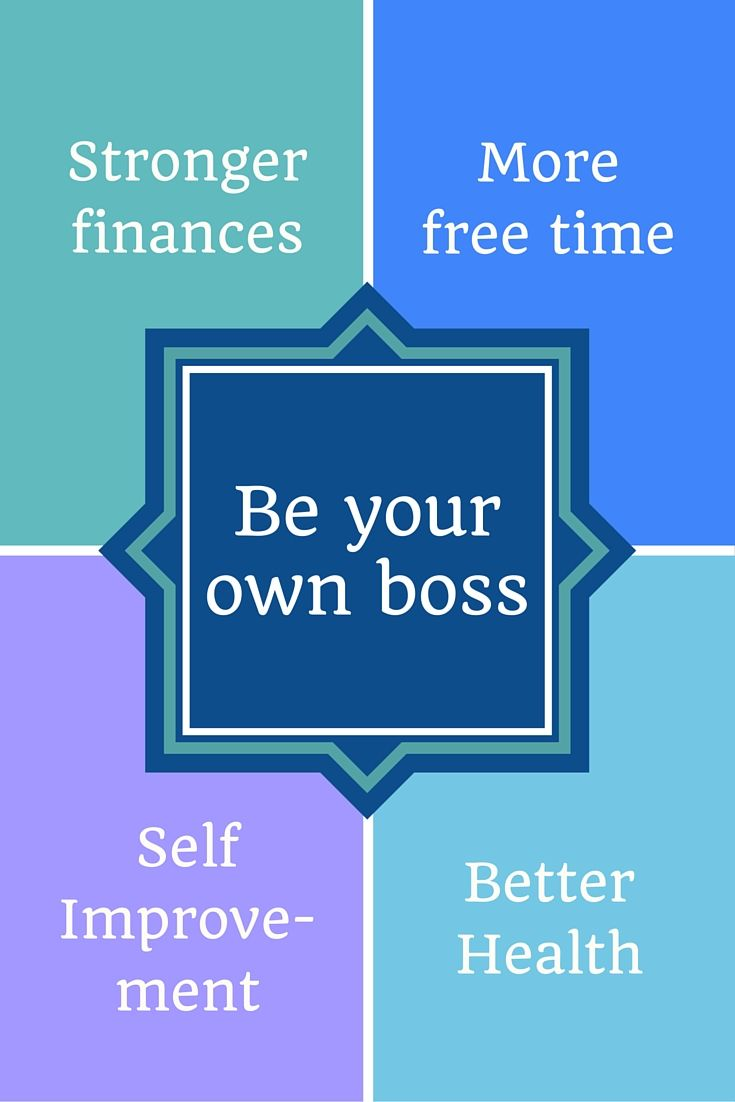 Run your own business from home.