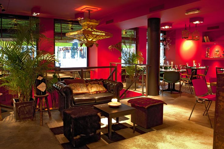 Cool Asian hotspot!  Woo Bros Restaurant in Amsterdam
