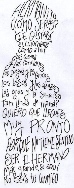 caligrama mama