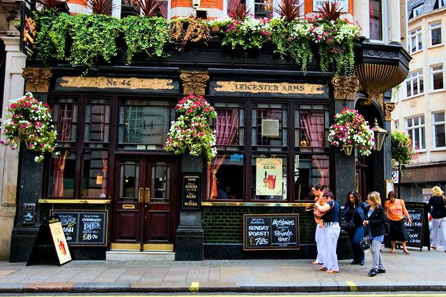 i like this pub because it looks friendly because of the plants
