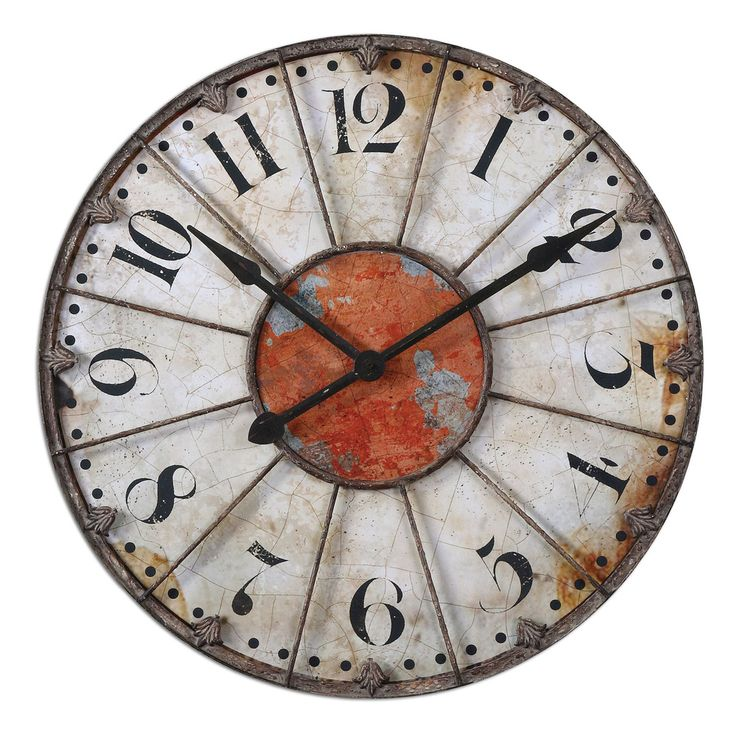 $195 Ellsworth 29-inch Wall Clock   Overstock.com Shopping - The Best Deals on Clocks