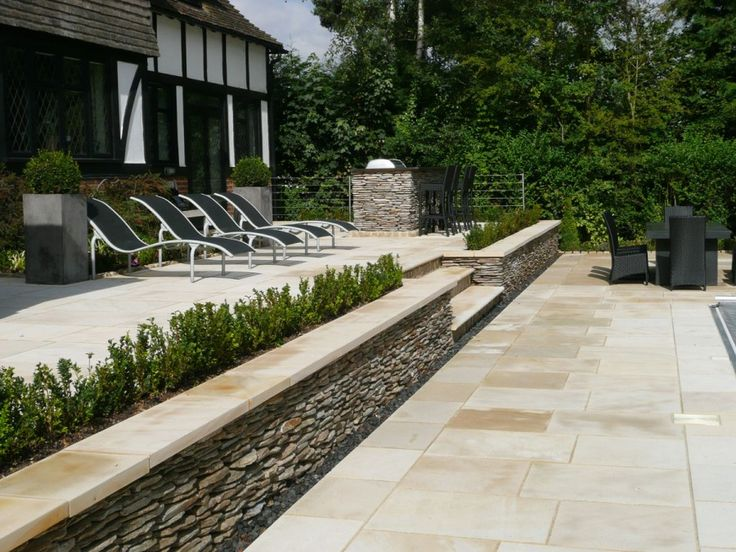 Paving Superstore Pro Range-Sawn Sandstone-Buff Neutral-PAVING SLABS