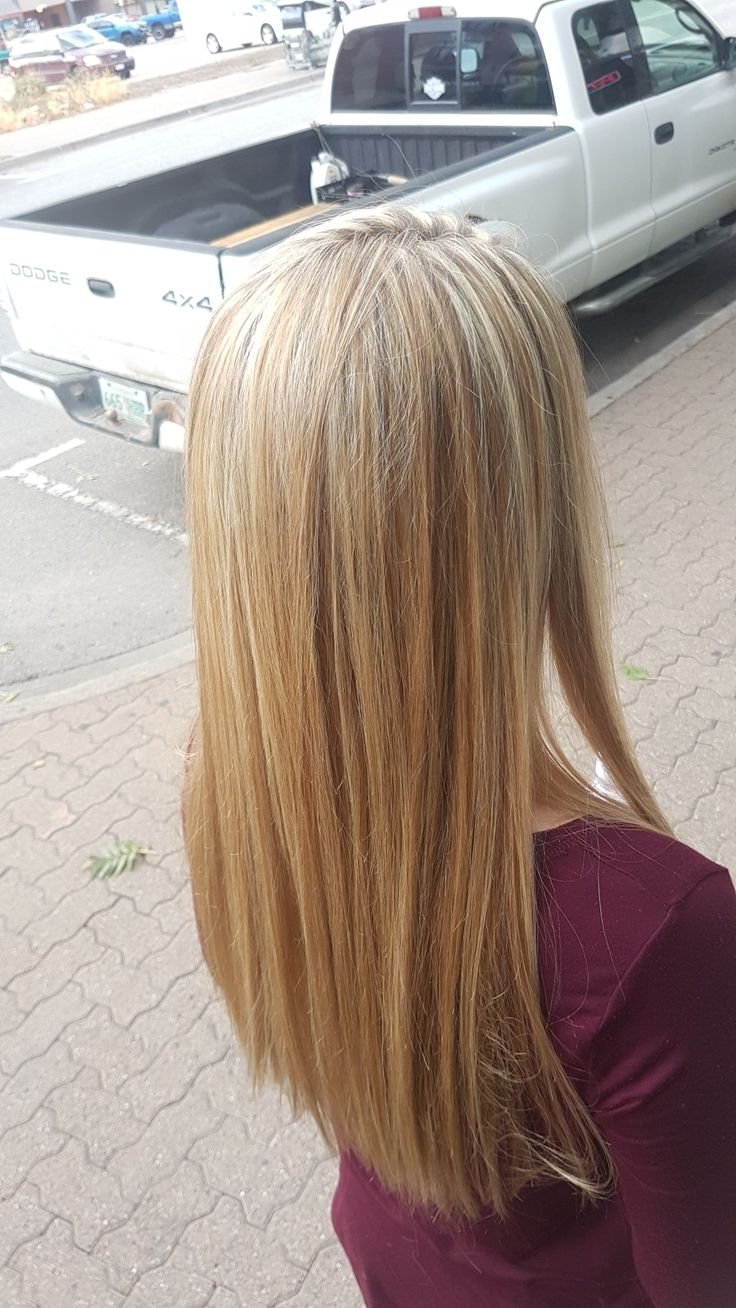 A gorgeous highlight service on one of my clients. Definatly brightened and added some spark back into her hair 🎀