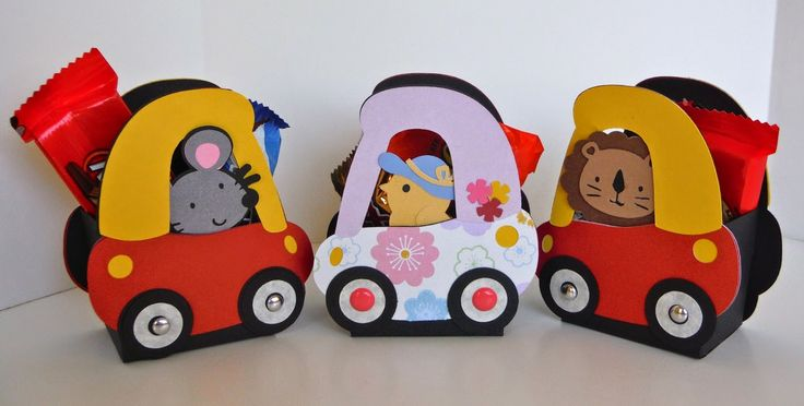 Coupe car treat boxes - Create a Critter