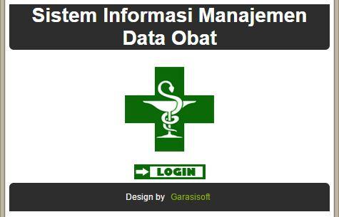 Aplikasi Sistem Informasi Manajemen Data Obat