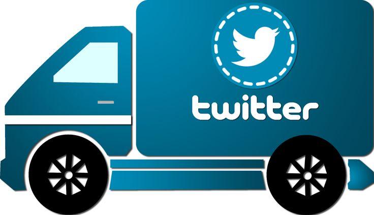 Caminhão Twitter - Twitter truck