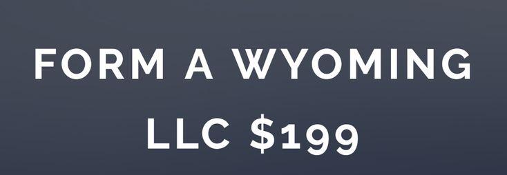 Wyoming LLC Attorney $199 - Form Online - 24hr Guarantee!