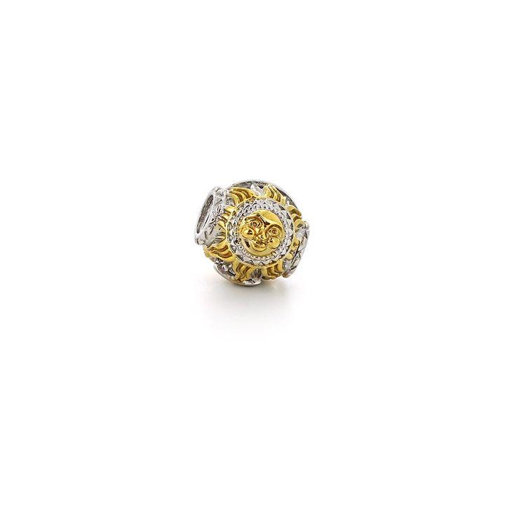 » Подвеска-перлина «Золотое солнышко»