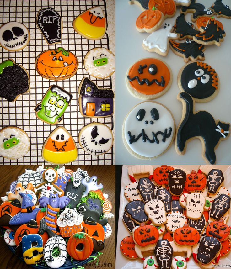 halloween cookies halloween cookies icing recipe sugar ideas how to diy skulls spooky - Halloween Cookies Decorating Ideas