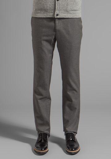 STEVEN ALAN Slim Trouser в цвете Grey Twill - Steven Alan