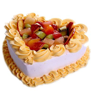 Heart Shape Cakes Delivery in Delhi