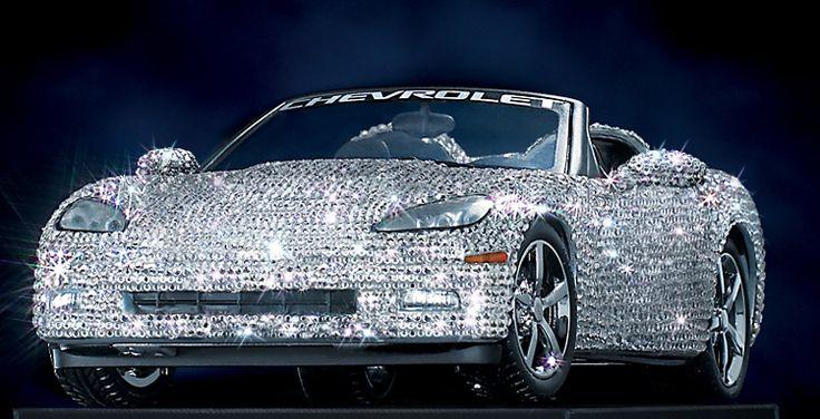 Swarovski Crystal | ... Mint 2008 Corvette 5,300 Swarovski Crystals - LE of 500 diecast car