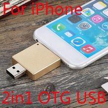 US $12.36 2in1 Newest OTG USB Flash Drive 512GB For IPhone IPad, 16GB 32GB 64GB Disk On Key Pendrive Mini Memory Stick 1TB 2TB Flash Card. Aliexpress product