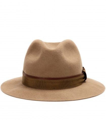 Burberry London - URSULA RABBIT-FELT FEDORA  - mytheresa.com GmbH