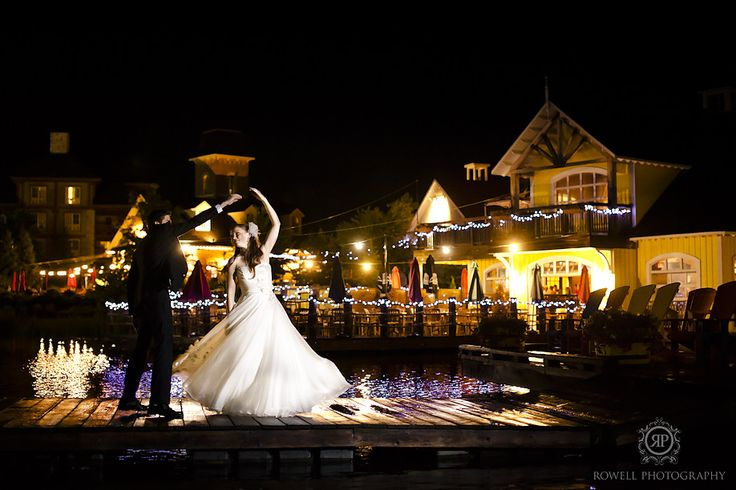 CLICK THIS PIN to see more night time romantic wedding photos at Blue Mountain Resort Collingwood, Canada.  blue mountain, Ontario   romantic wedding photography