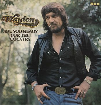 Waylon Jennings Are You Ready for The Country UK vinyl LP album ...