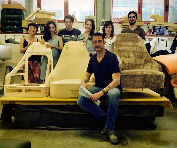Laboratorio BertO aperto per i designer di Casa Flora a Venezia.