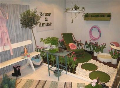 Garden fair in Sweden