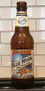 Blue Moon First Peach Ale is a American Pale Wheat Ale style beer brewed by Coors Brewing Company in Golden, CO. 80 out of 100 with 38 reviews, ratings and opinions.