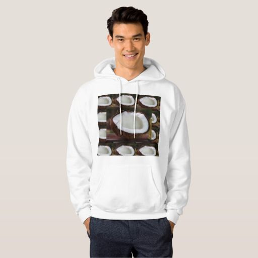 Chef Kitchen Cuisine coconut Flavor Veggie Recipe Hooded Pullover