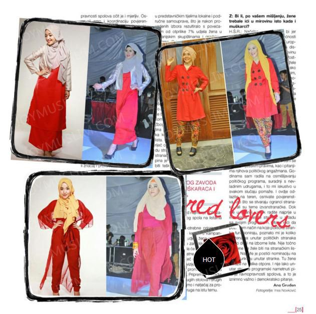 Everyday wear with muslim hijab