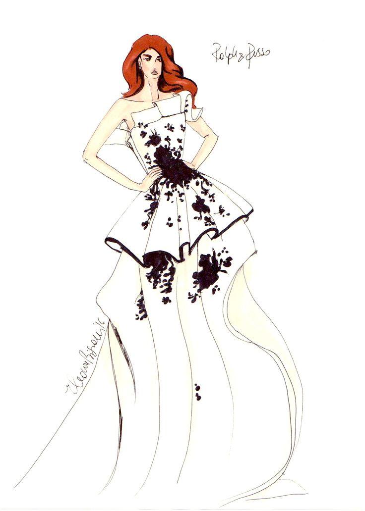 Rakph and Russo is always a good idea! #fashionillustration #casabignami #wedding