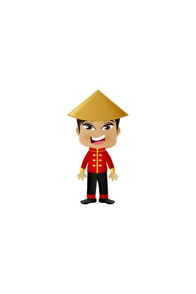Chinese Man Vector Image #people #world http://www.vectorvice.com/people-world-vector