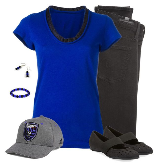 San Jose Earthquakes - Game Day Style by carriefdix on Polyvore featuring Sacai, Citizens of Humanity, Sesto Meucci and adidas