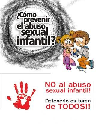 Cartilla prevencion del abuso sexual infantil  CARTILLA PREVENCION DEL ABUSO SEXUAL INFANTIL