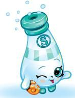 Sally Shakes (Shopkins 1-018, 1-027) Sally Shakes is a blue and white salt…