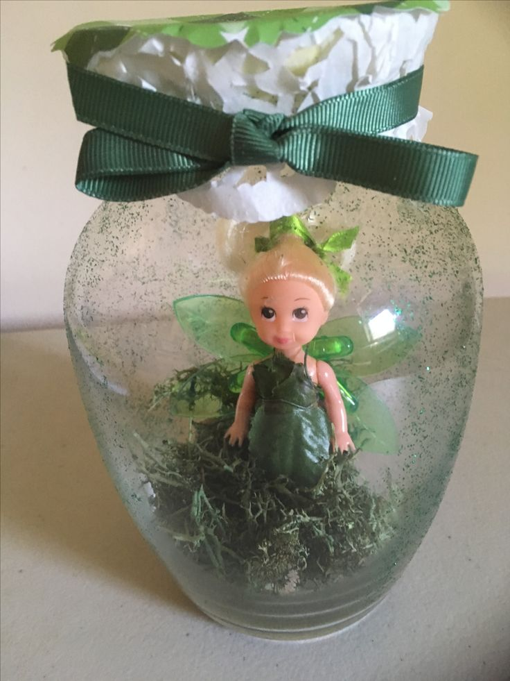 Captured Fairy Jar for a Friend