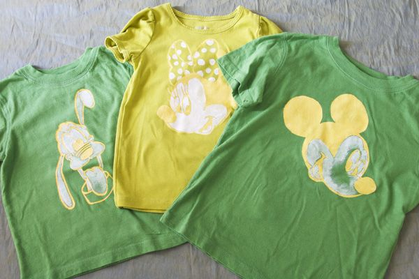 DIY Disney Shirts & other Disney Clothes