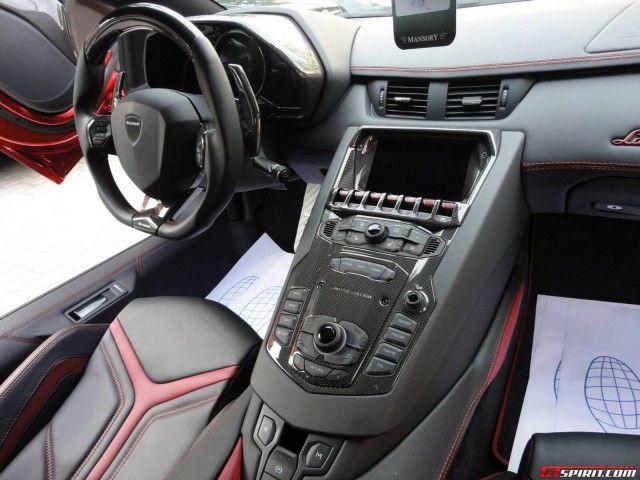 Mansory Lamborghini Aventador (interior)