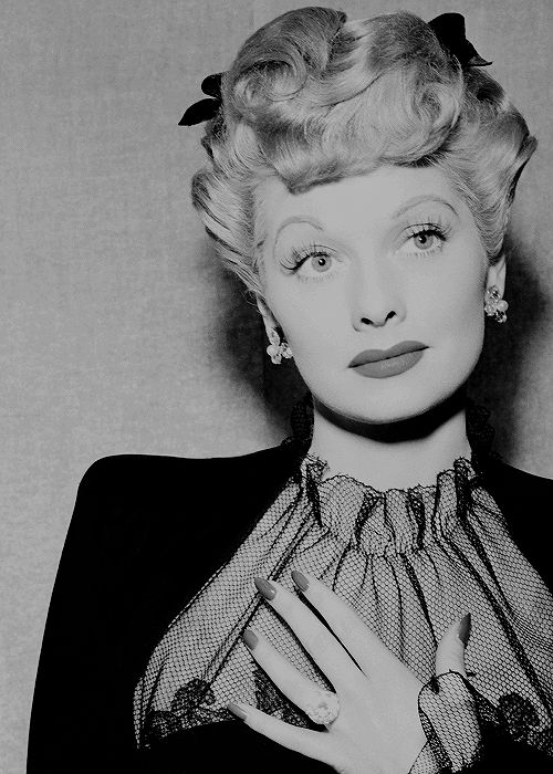 "normajeaned: "" "" Lucille Ball, 1943. "" ""                                                                                                                                                                                 More"