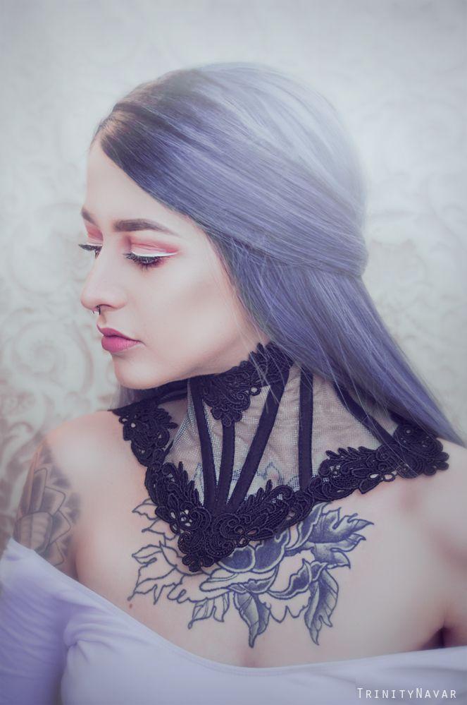 Model and MUA :- Antonia Rose Collar:- FORGE Photography:- Trinitynavar