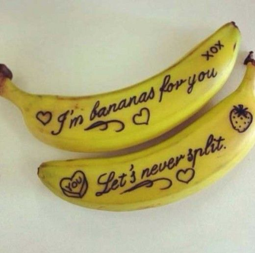 Love Bananas- DIY Valentines Day Gift and Card Ideas