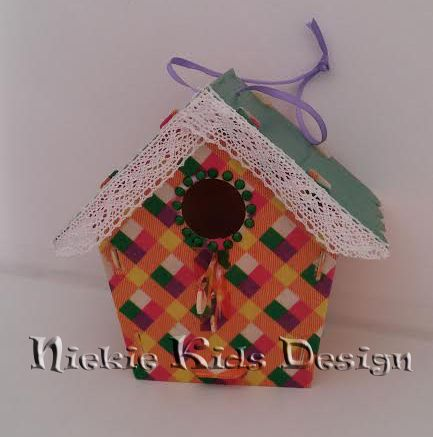 #vogelhuisje #decopatch #kinderfeestje #Niekie Kids Design