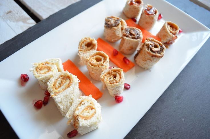 Smucker's Peanut Butter Rolls | Mooshu Jenne Great for kids with finger food or pop into a lunch box.